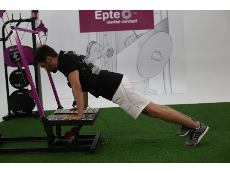 Epte inertial squat oefening
