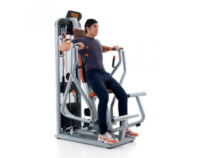 Teca Advanced chest press oefening 3