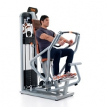 Teca Advanced chest press oefening 2